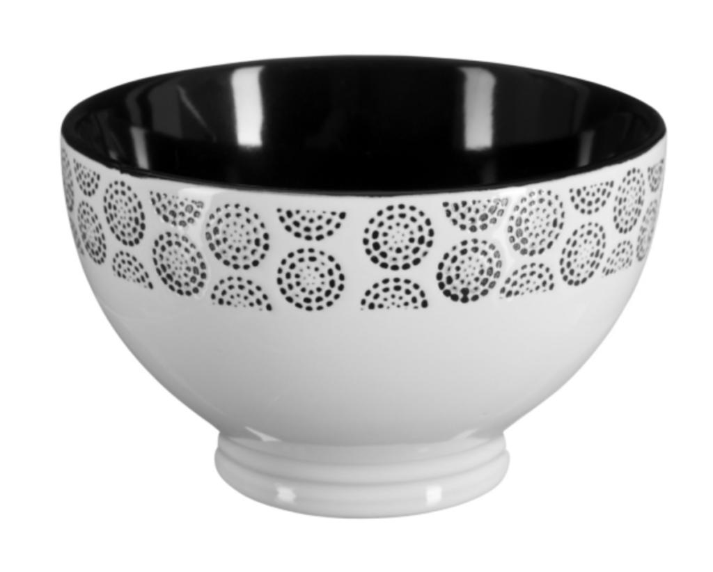 bol noir et blanc