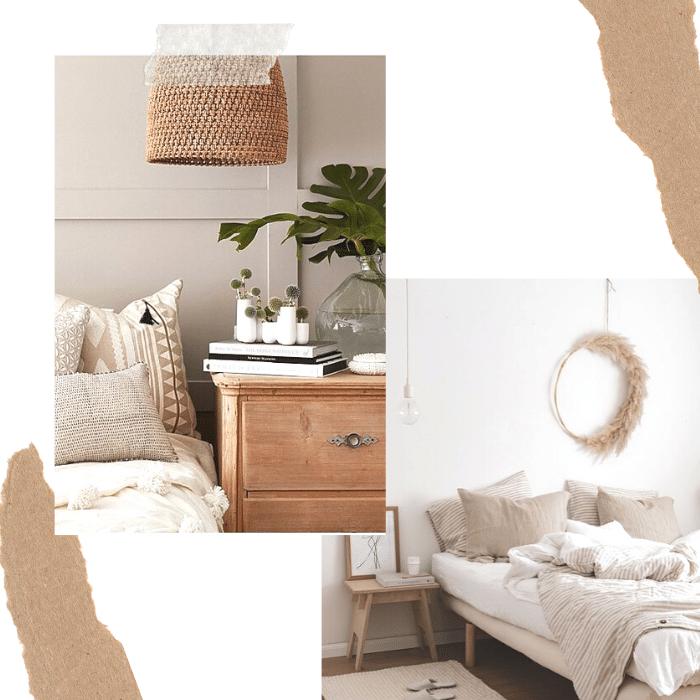 Inspiration décoration chambre nature