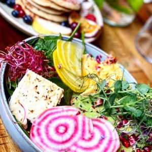restaurant healthy bordeaux. Assiette de légumes