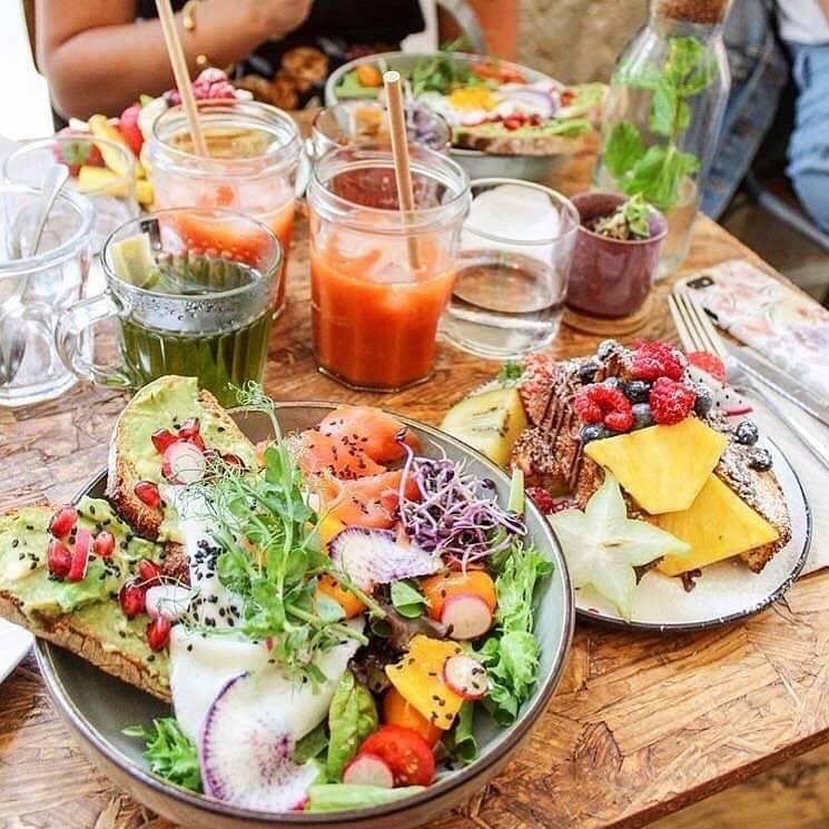 plats healthy- restaurant les sauvages healthy bordeaux