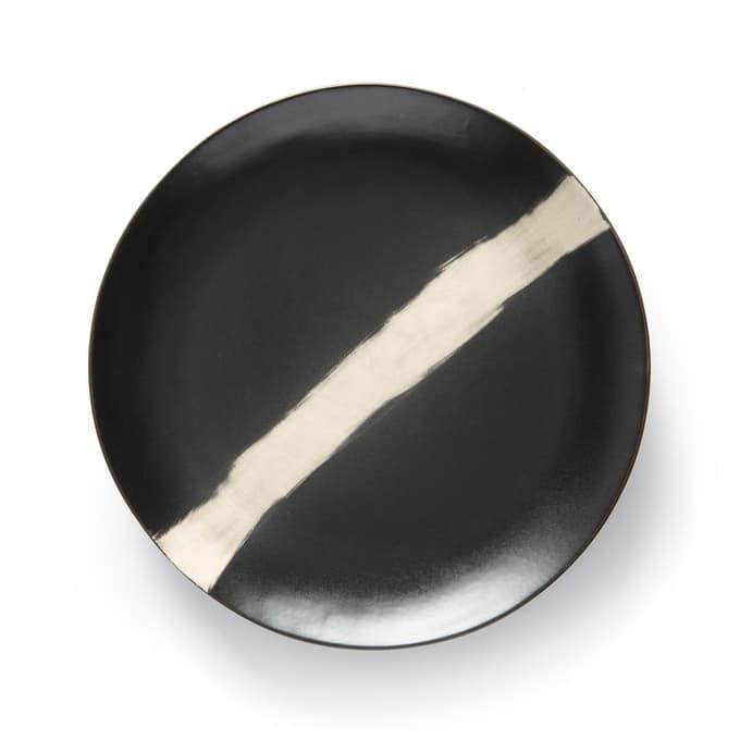Assiettes noires La Redoute